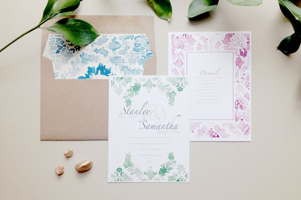 Wallflower Invites