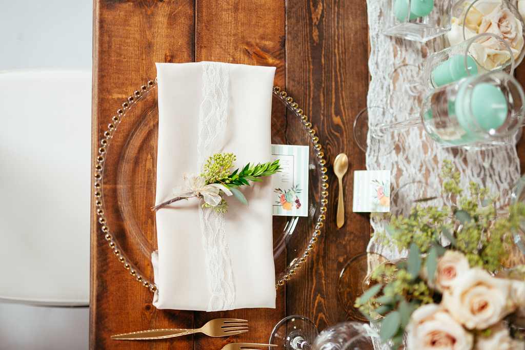 Beachy Boho Place Cards and Menus