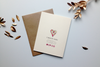 Keeks Paper Co. greeting card back