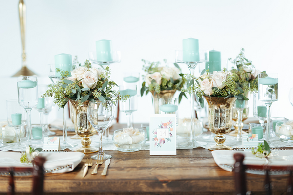 Beachy Boho Table Number