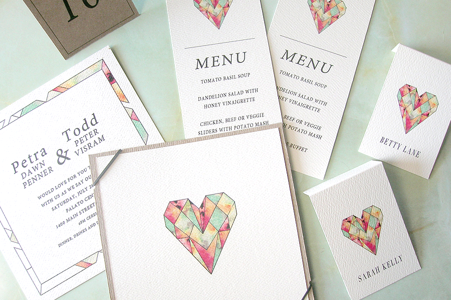 Gem Love Invites