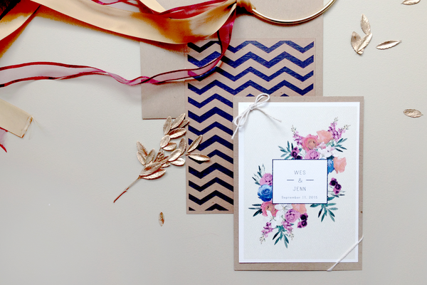 Beachy Boho Invites