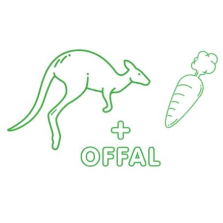 Roo Essentials (roo, offal & veg) for 5kg dog