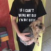 Image of IF I CAN'T BRING MY DOG I'M NOT GOING Women Tshirt