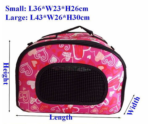 Foldable Pet Carrier Bag