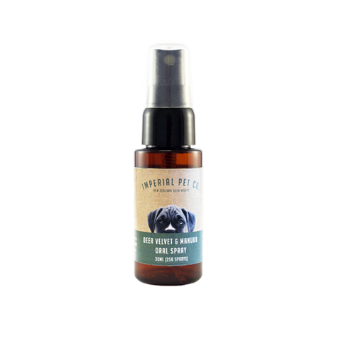 Imperial Pet Co. 30ml Oral Spray With Deer Velvet and Manuka