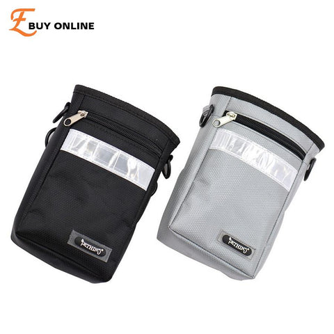 Reflective Waist Belt Bag for Pet Treats, Toys, Poop Bag