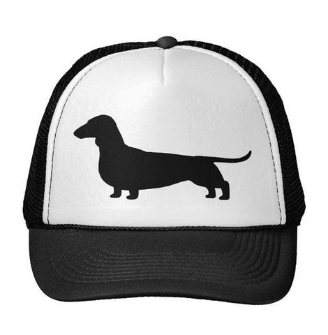 Dachshund Dog Print Baseball Hat