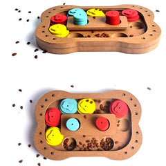 Wooden Treats Puzzle For Dogs