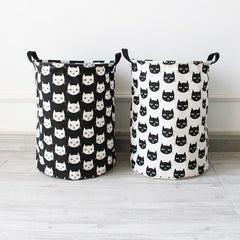 Cat Foldable Waterproof Toys and Laundry Storage Bag