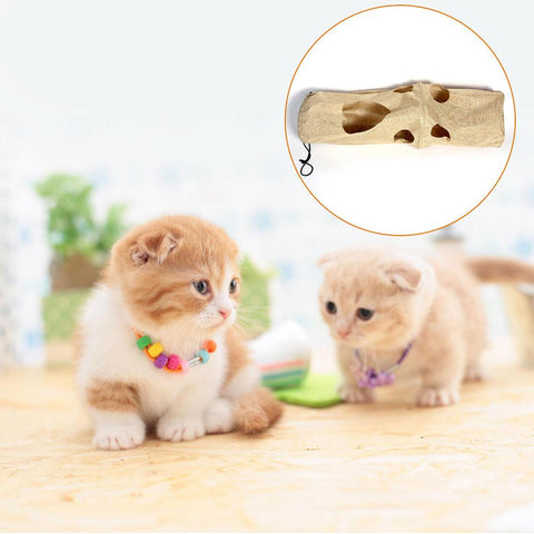 Pet Cat Interactive Long Tunnel Toy