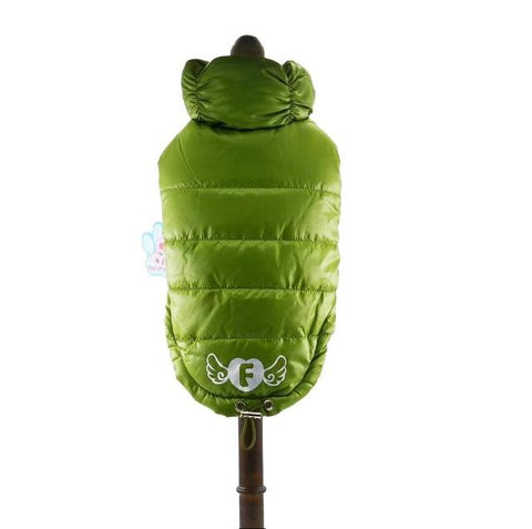 Soft Waterproof Sleeveless  Winter Dog Coat