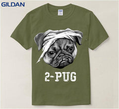 2-Pug T-Shirt for Men