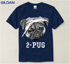 Image of 2-Pug T-Shirt