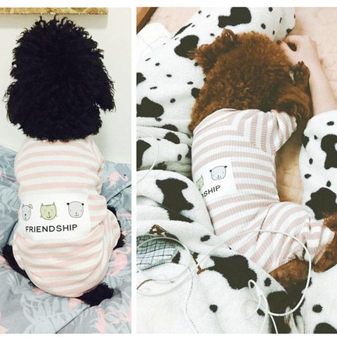 Warm Small Dog  Soft Jumpsuits