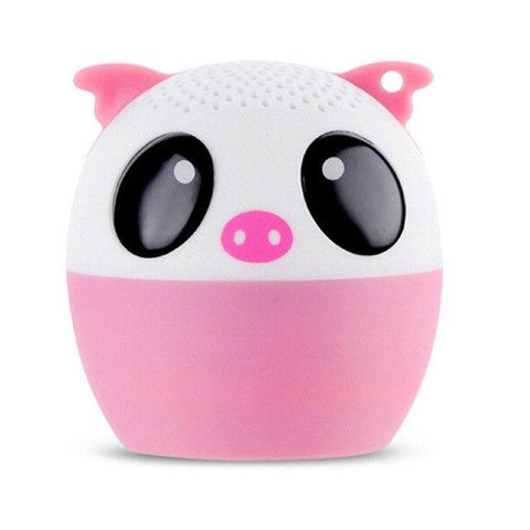 Mini Wireless Bluetooth Loudspeaker Portable Animal Cartoon Music Player Outdoor Waterproof