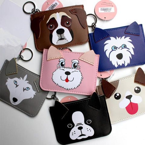 Cute Minimalism Themed Animal 3D Coin Purses