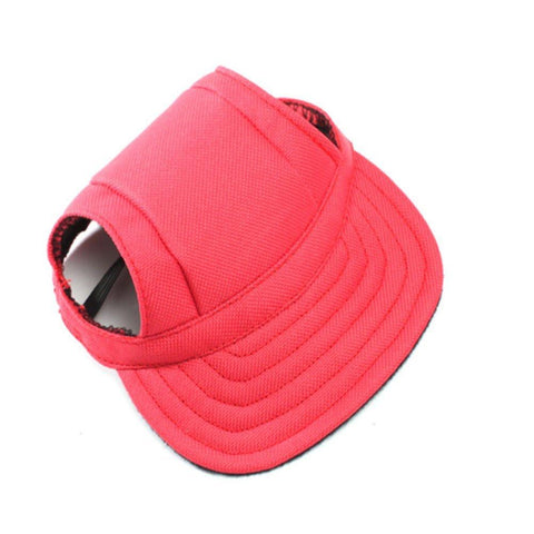 Pet Oxford Fabric Hat Sports Baseball Cap with Ear Holes for Small Dogs