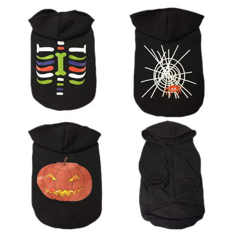 2018 New Lovely Pet Dog Clothes Halloween Costume Pet Spider Coat