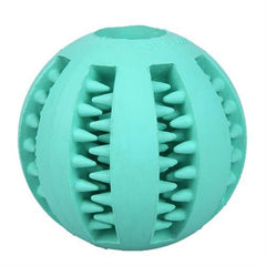 Dog Rubber Balls Chew Dental Teeth  Cleaning