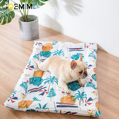 2019 Summer Cooling Mats Blanket Ice Pet Dog Bed Mats For Dogs Cats Sofa Portable Puppy Sleeping Beds Pet Accessories