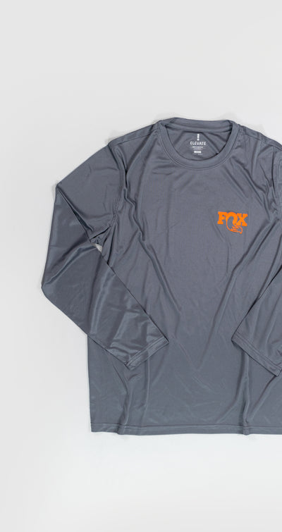 FOX Logo Dryfit Long Sleeve Shirt