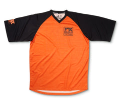 2016, FOX Heritage Raglan SS Jersey, Orange/Black
