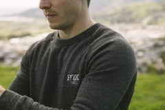 NEW - FOX Crewneck Sweatshirt, Eco Black