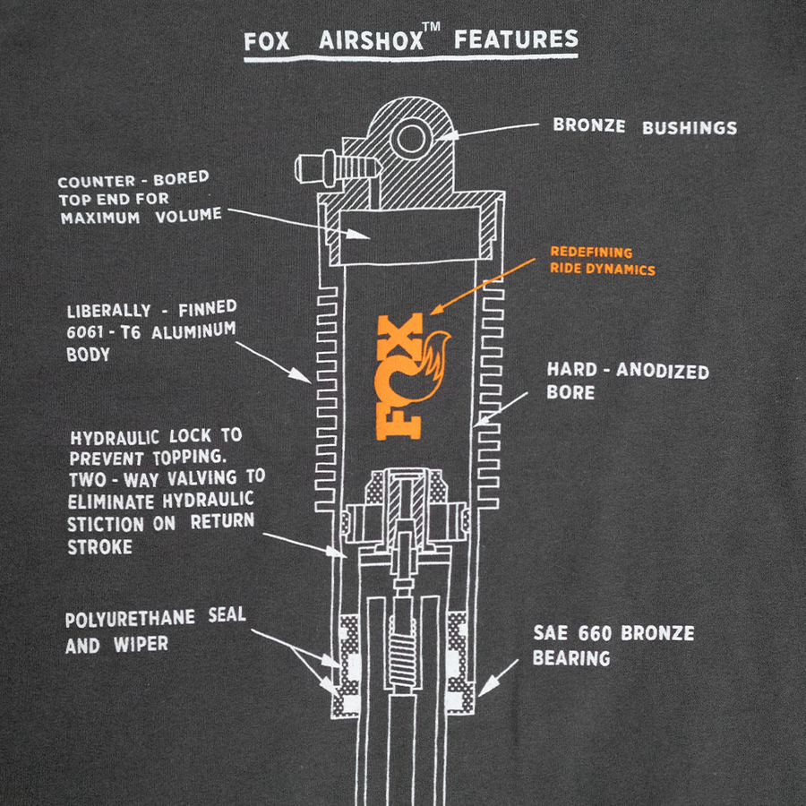 FOX Airshock Kids T-Shirt