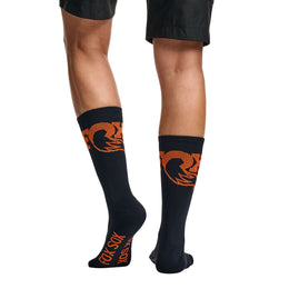 "Orange Logo 7"" Sock"