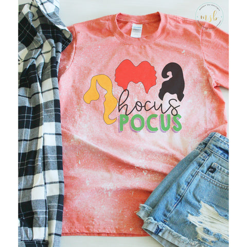 Hocus Pocus Bleached Tee - monkey see boutique