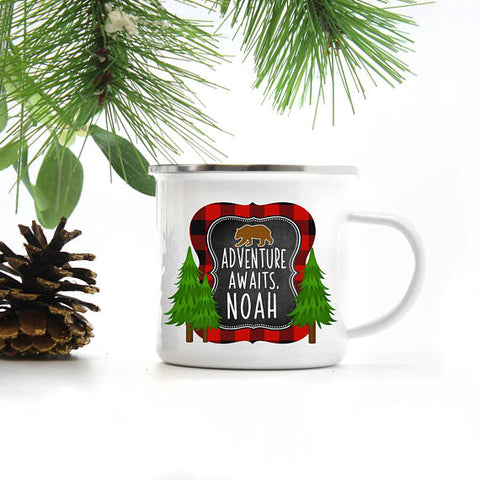 Holiday Adventure Camp Mug - monkey see boutique