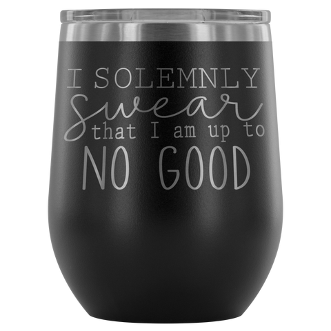 Up To No Good Wine Tumbler - monkey see boutique