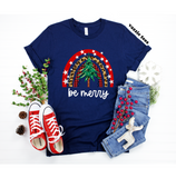 Be Merry Christmas Shirt - Short Sleeve Tee