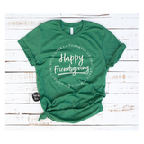 Happy Friendsgiving - Heather Maroon & Green