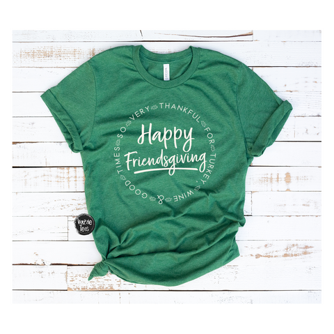 Happy Friendsgiving - Adult Shirt