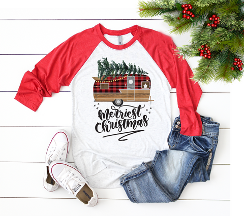 """Mama Bear + Plaid Pants Set"" - VNeck & Crew"