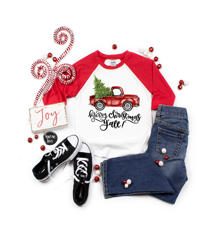 """Christmas Car - Red Bug"" Personalized"
