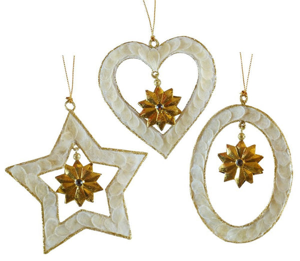 Ornaments - Shapes 3pack