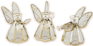 Capiz Angels 4 inches – Set of 3