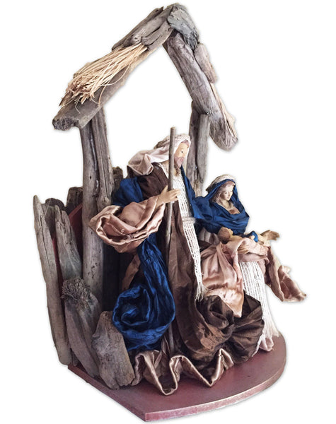 Holy Family Nativity in Stable