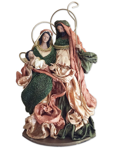 Holy Family in Green and Gold