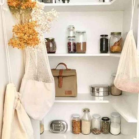 A Plastic Free Pantry