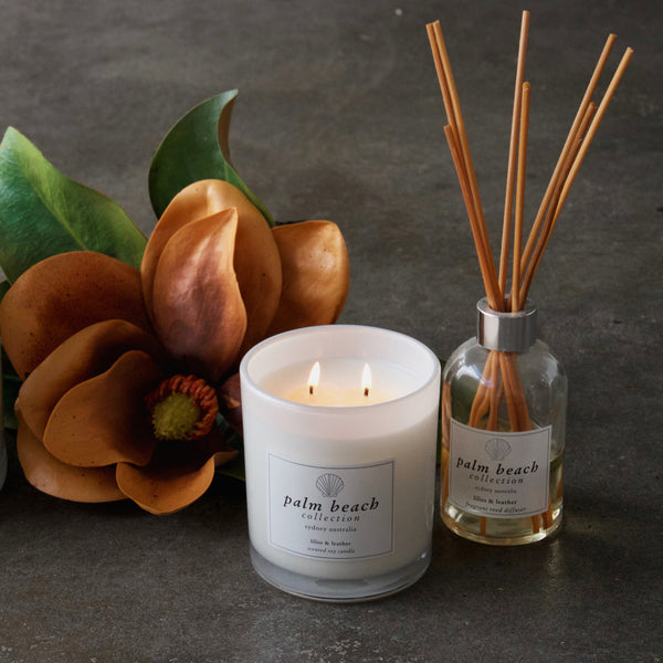 Candle of the Week: Lilies & Leather