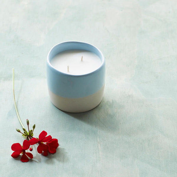 Sun Bleached Denim The Candle Library