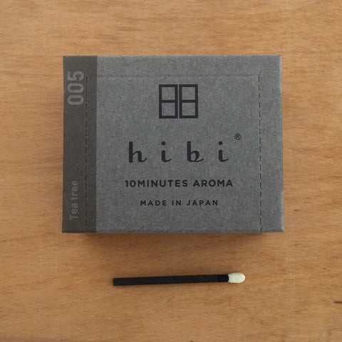 Hibi 10 minute incense : modern scent