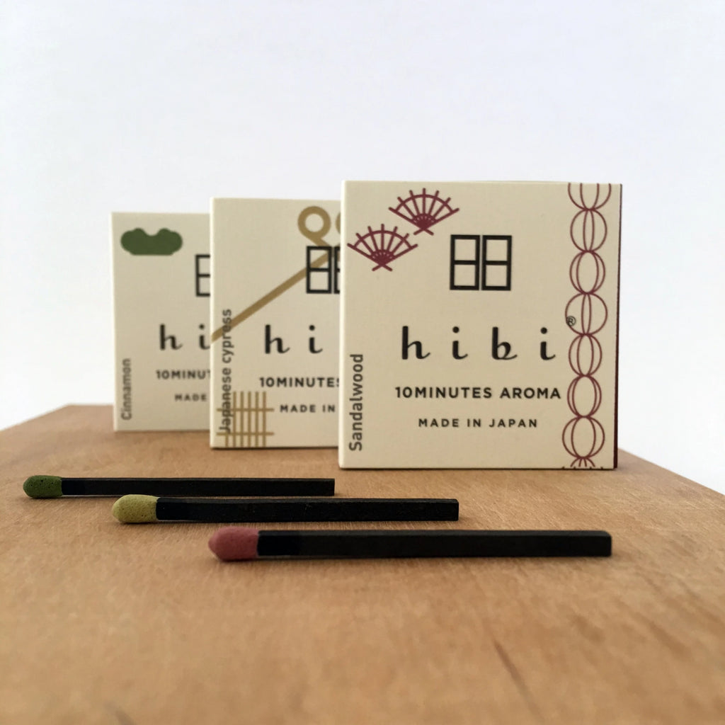 Hibi 10 minute incense : Traditional Scent