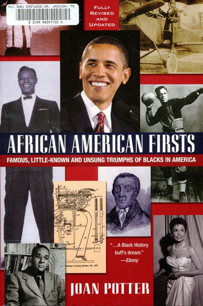 """African American Firsts"" by Joan Potter"