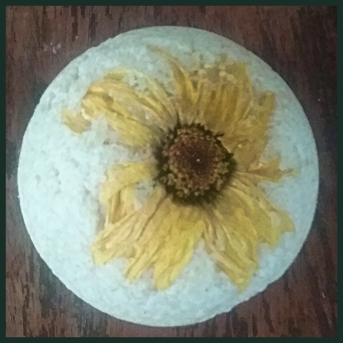 Soothing Oatmeal and Honey Bath Bomb