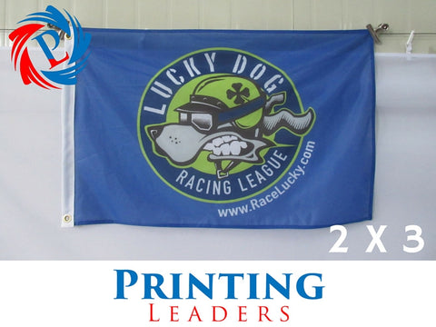 Custom 2' x 3' Flag - Cheap Custom Printing - 1